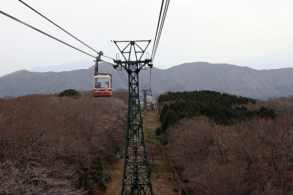 4. Ropeway to Togendi/Lake Ashi/Ship to Hakone and Bus to Odawara