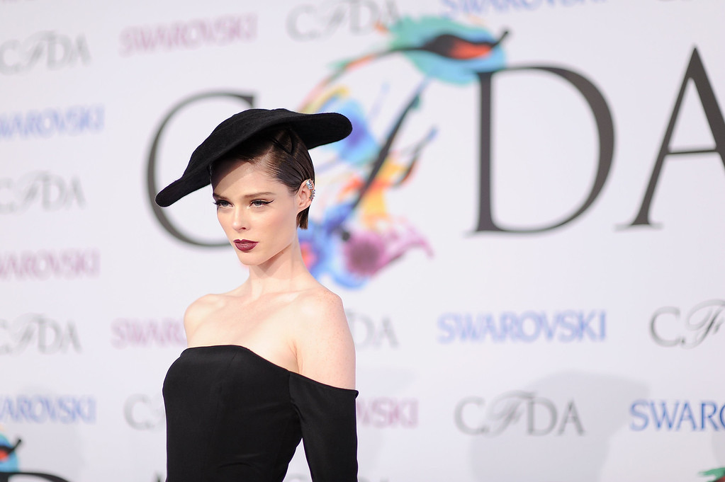 . Model Coco Rocha attends the 2014 CFDA fashion awards at Alice Tully Hall, Lincoln Center on June 2, 2014 in New York City.  (Photo by Dimitrios Kambouris/Getty Images)