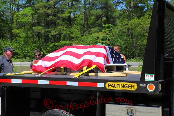 Dighton, MA 9/11 Memorial Steel