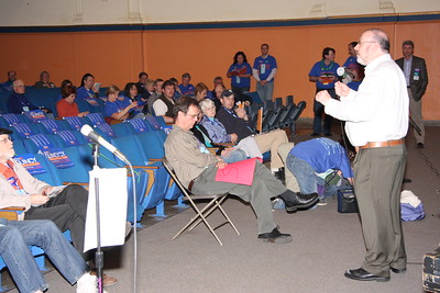 John Quincy at Ward 11 Convention 4-28-09
