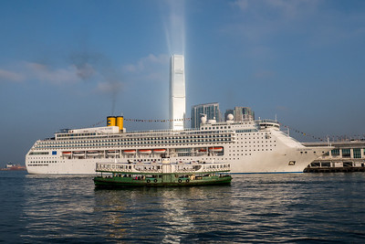 Star Ferry, Costa Victoria & ICC
