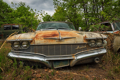 abandoned antique  junkyard