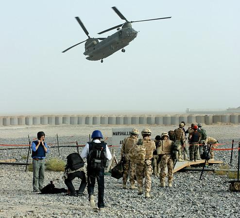 Afghanistan Lashkar Gah HQ Visit