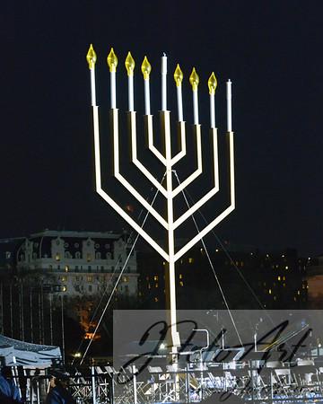 Lighting of the National Chanukah Menorah 2013