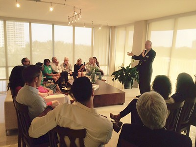 May 14, 2016 – YLSA of Miami Event with Bill Eskridge  '78