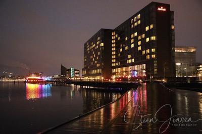 Night Photo; Copenhagen Light Festival