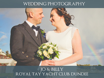 Jo & Billy - Royal Tay Yacht Club, Dundee - Wedding Photography