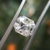 2.39ct Antique Asscher/Square Emerald Cut Diamond, GIA D/IF 16