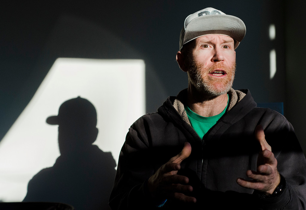 . Local photographer Alan Scherer, the grandson of former Red Sox center fielder Jimmy Piersall, speaks about his battle with bipolar disorder, the same disease that made his grandfather famous 50 years ago. SENTINEL & ENTERPRISE / Ashley Green