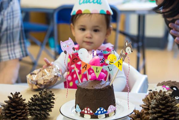 Calla 1st Birthday