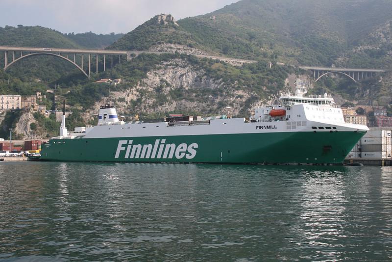 M/S FINNMILL in Salerno.