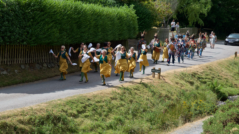 Carding Mill Valley procession