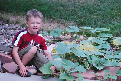 Ocober 2011 - pumpkin and swing