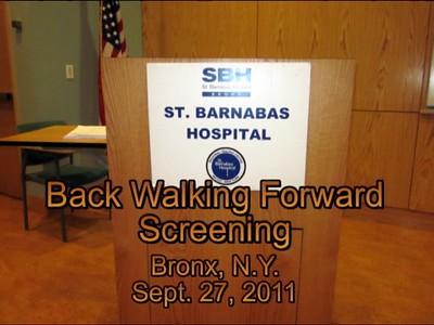 St. Barnabus Hospital Film Screening