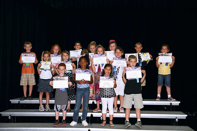 First Grade Awards 2011 & Kindergarten Playday