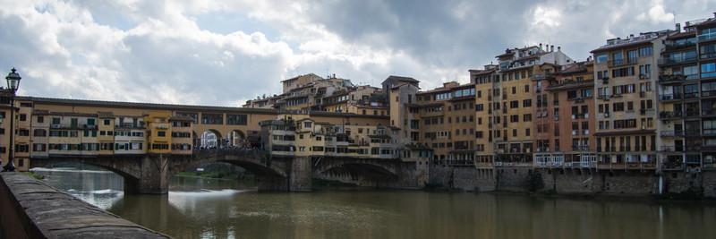 Oldest Florence bridge built in 1345