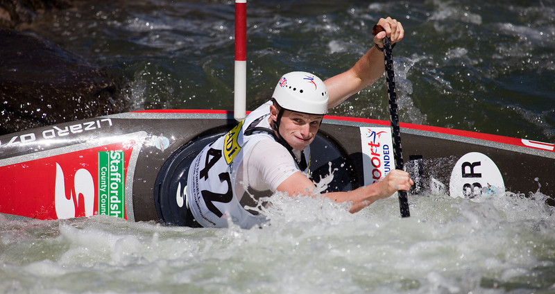 Mark PROCTOR (Great Britain), C1 - ICF Canoe Slalom World Championships 2009, La Seu d'Urgell (Spain)