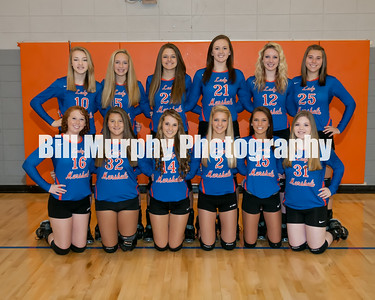 2014 Marshall County High School Volleyball Team, Dan Langhi Coach, August 1, 2014.