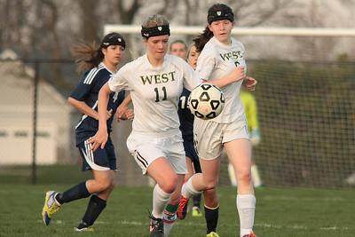 Zeeland West Girls Varsity Soccer vs Unity Christian