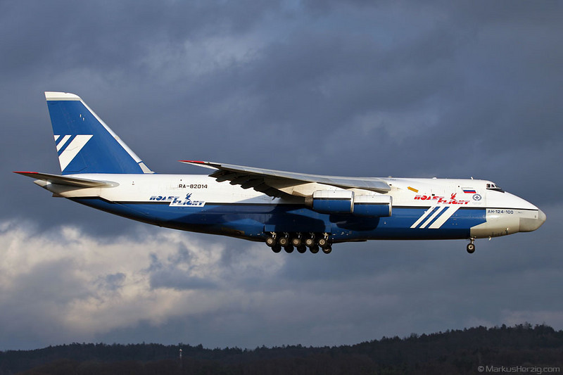 RA-82014 An-124 Polet Flight @ Zurich Switzerland 9Jan05