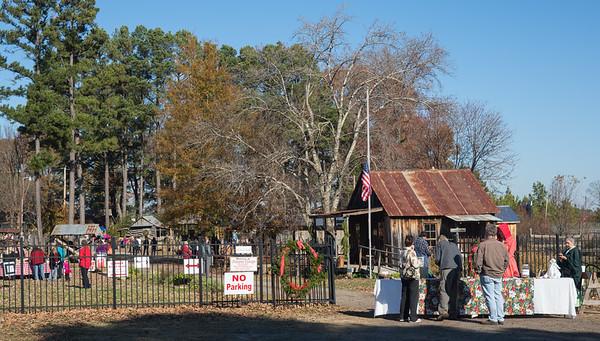 Pioneer Village Christmas open house 2015