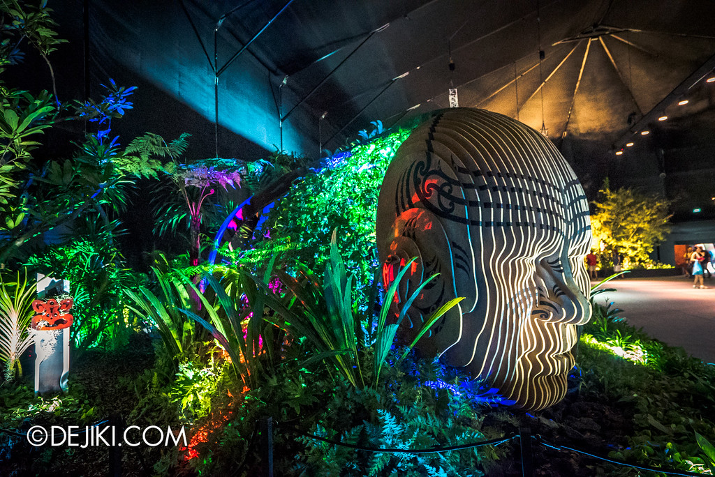 Singapore Garden Festival 2016 - Fantasy Garden - Modern-day Maui left