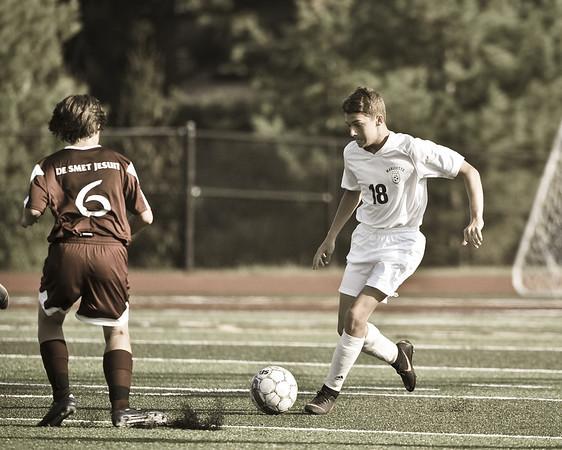 Freshman Boys vs DeSmet 9/18/19 Tie 1-1