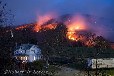 THE MT. EVE FIRE