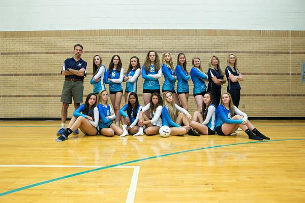 2013 JD Volleyball Team & Individual Photos