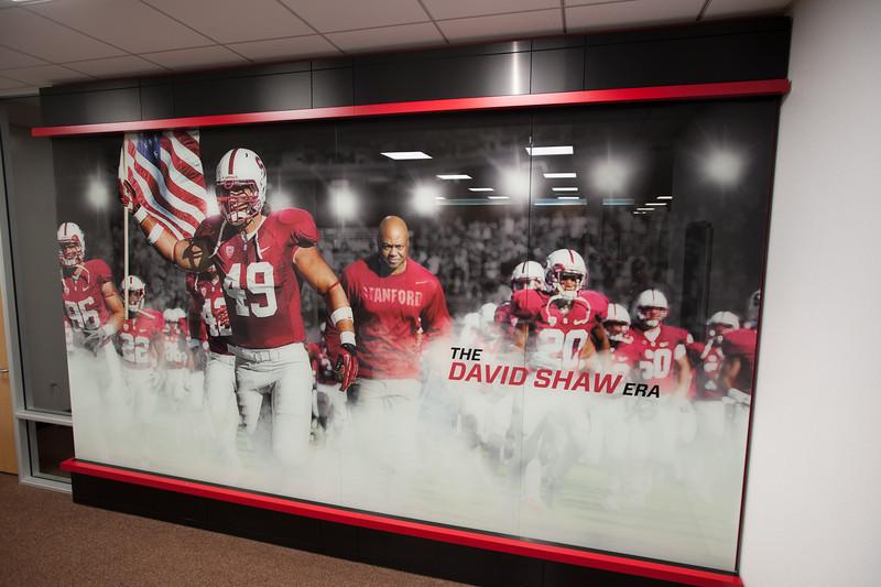 Stanford Football's new facility (Nov 13)