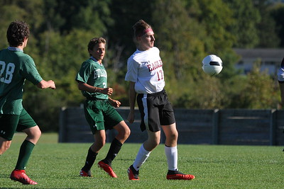 AMHS Boys JV Soccer vs BBA photos by Gary Baker