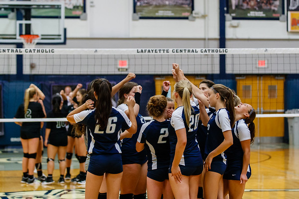 CC Volleyball vs Benton Central 2018-8-23