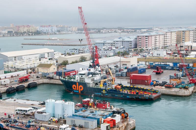 Gibraltar - Shipyards