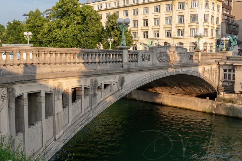 Ljubljana's Dragon Bridge