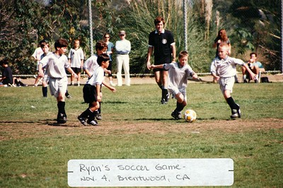 11-4-1995 Ryan Shimizu Soccer