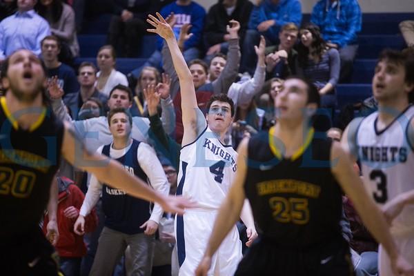 Men's Basketball vs. Brockport (Faculty Recognition)