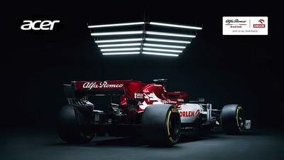 Parceria Alfa Romeo Racing ORLEN e Acer