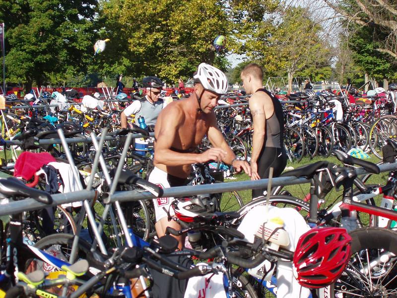Grab the bike...