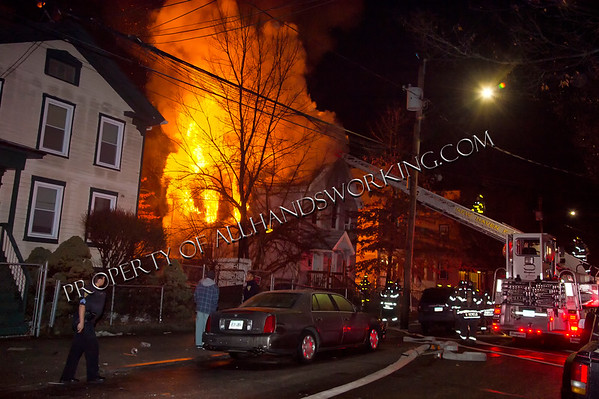 2nd alarm New Haven 28 Stevens St. dwelling fire