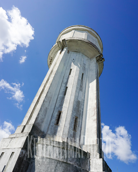Water tower in Nassau.