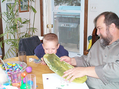 Dad's Birthday - April 19, 2003