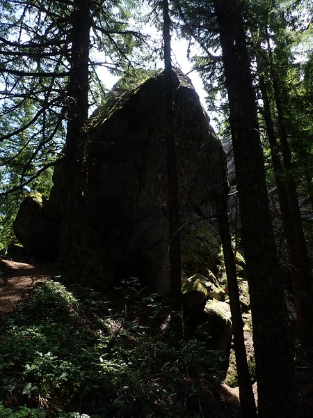 Rooster Rock Menagerie Wilderness Oregon
