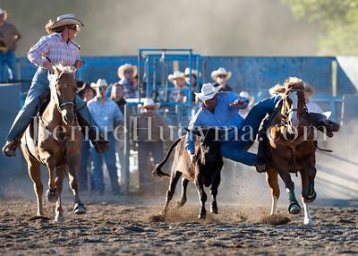 Steer Wrestling Fri&Sat