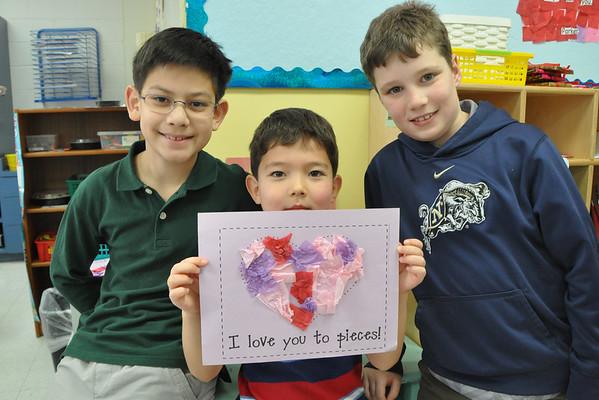 Kindergarten & Fourth-Grade Buddy Love
