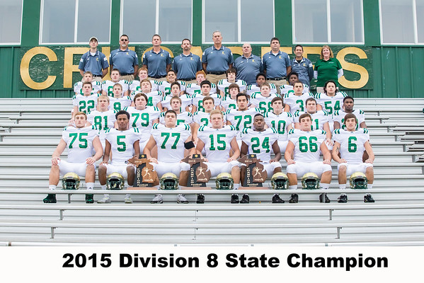 football state champ team photos