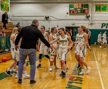 Set nine: Girls Varsity Basketball v Northwest 12/05/2018