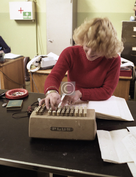 The Bell Punch Company's 'Plus' adding machine told jokes as well.