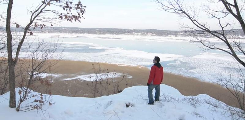 Winter in Tallman State Park