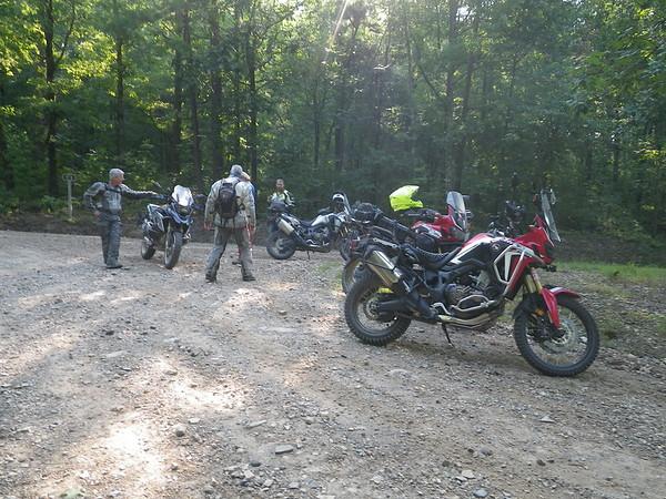 TWT  Arkansas Adventure Ride 8-24 thru 8-26-18