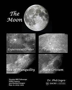 Moon - Closeups